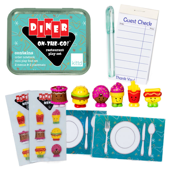 Diner On-the-Go Pretend Restaurant Travel Playset