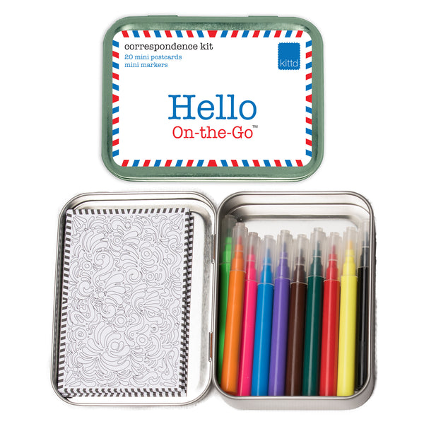 Hello On-The-Go Travel Toy Postcard Play Set