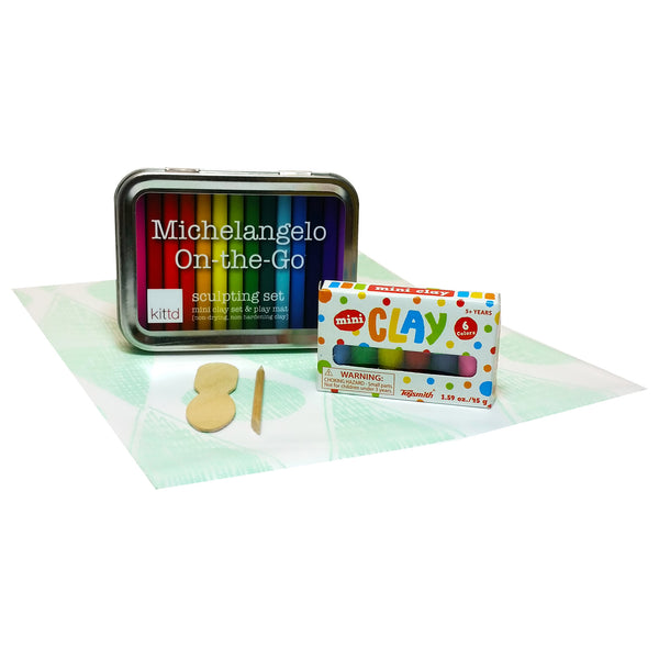 Michelangelo On-the-Go Travel Clay Sculpting Set