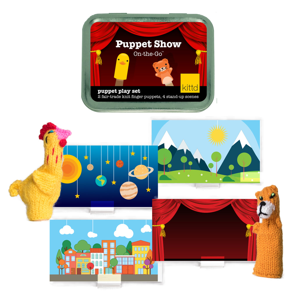 Puppet Show On-the-Go Travel Theatre Playset