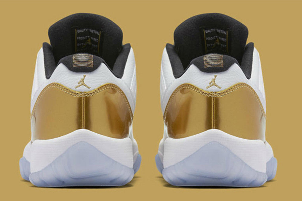 "Air Jordan Retro 11 Low Metallic Gold ""Closing Ceremony"" / August 27th"