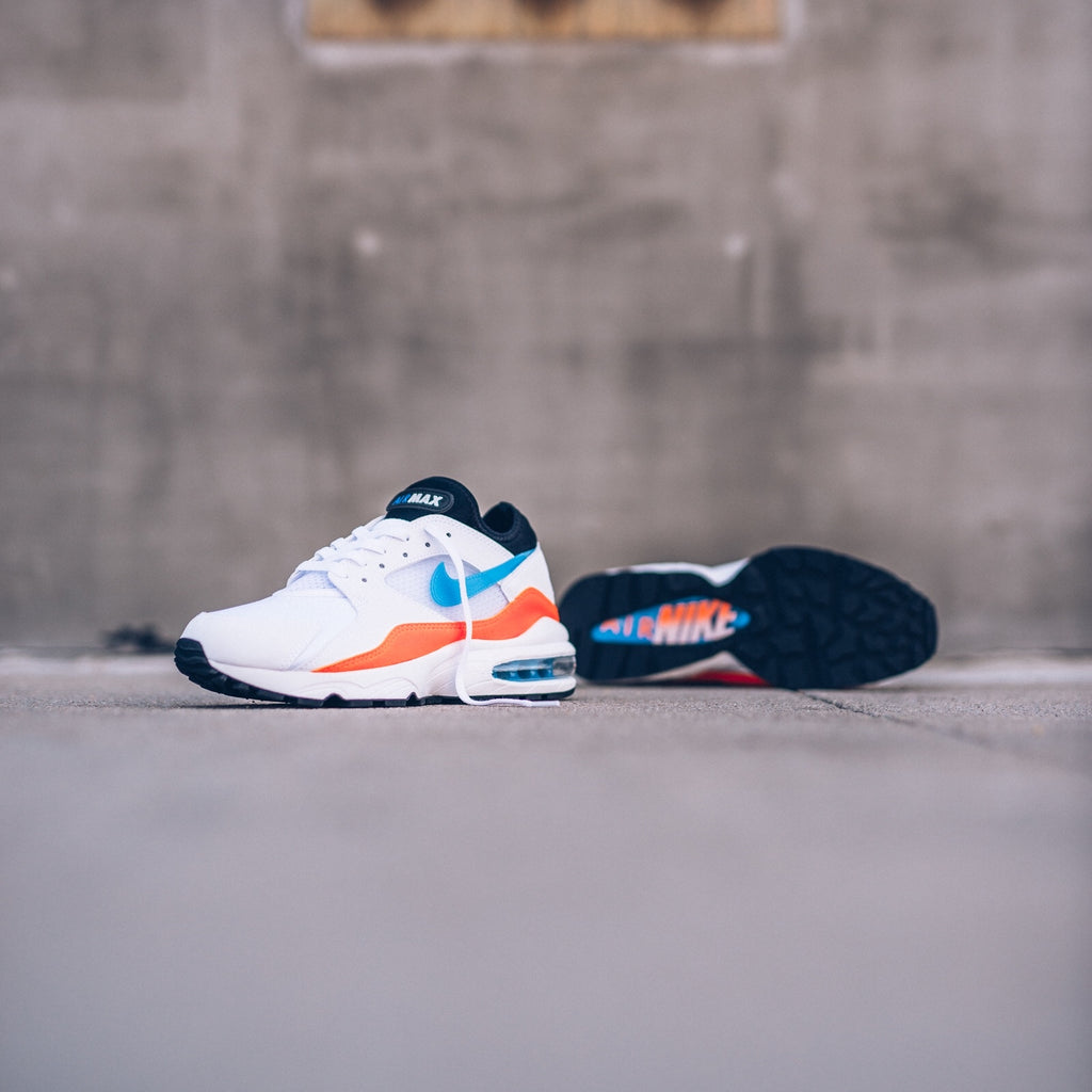 "Mens Nike Air Max 93 ""Nebula Blue"" - Currently Available"