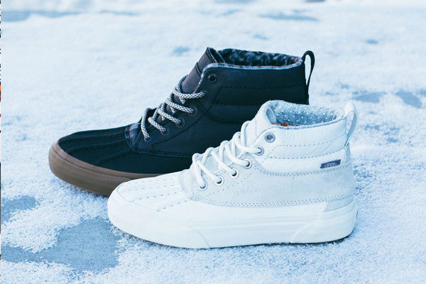 Vans Vault Winterized Sk8 Hi's / Available Now