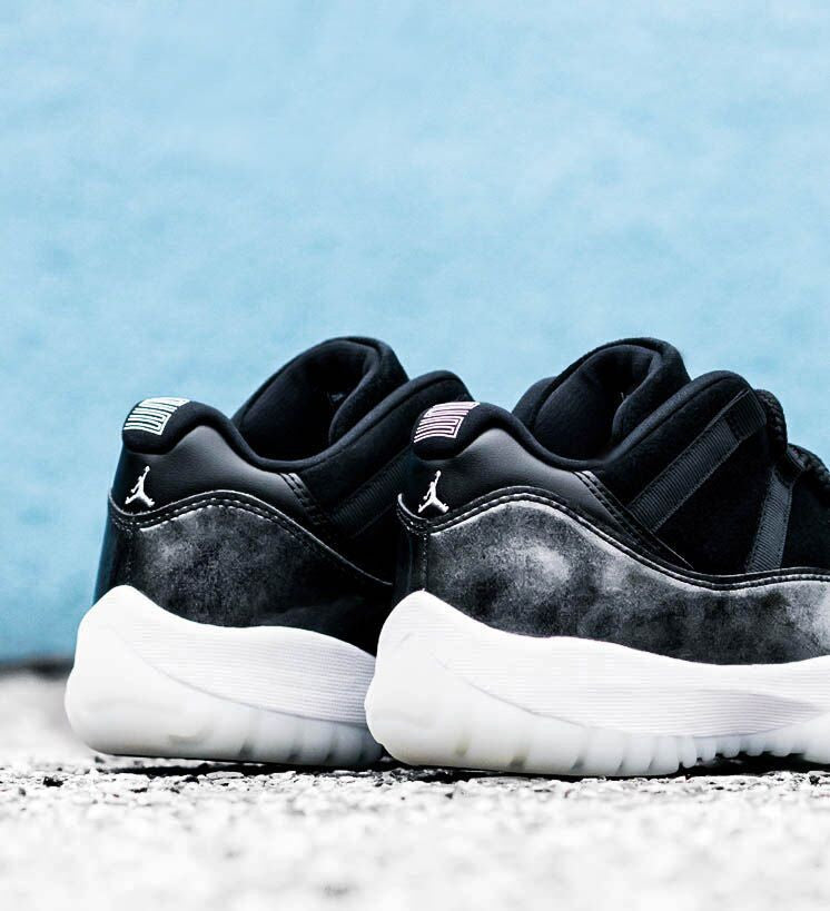 "Jordan 11 Low ""Baron"" / Saturday May 27th"
