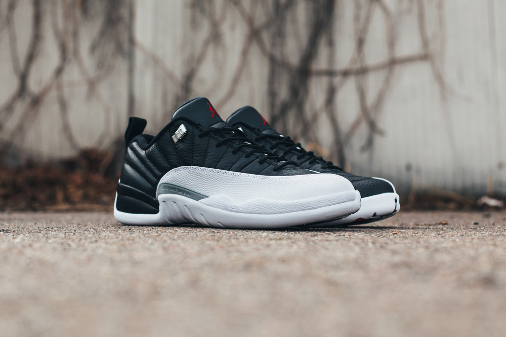 "Jordan 12 Low ""Playoffs"" / Saturday February 25th"