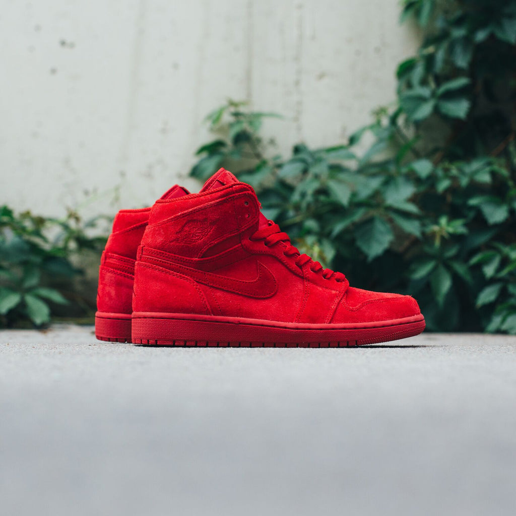 "Air Jordan 1 Retro /  ""Red Suede"" Available Now"
