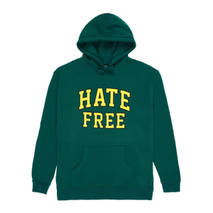 Hate Free Hoodie - Forest Green