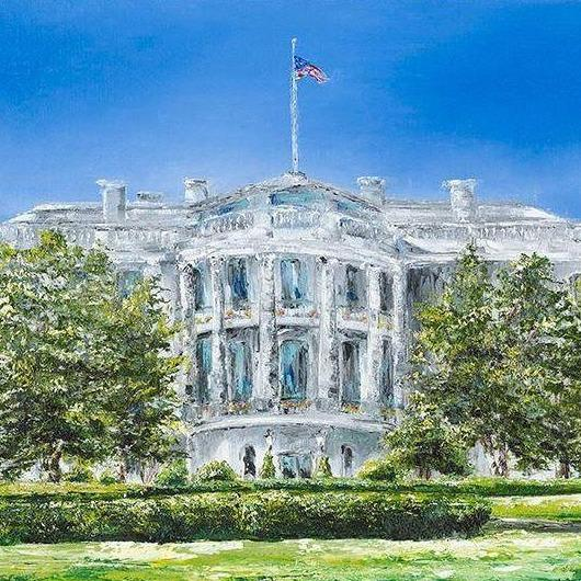 AMERICAN Patriotic ARTIST CLAIRE HOWARD ~ Gallery at Studio Burke Ltd ~ Washington, DC