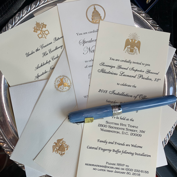 Luxury, Bespoke Stationery Collection