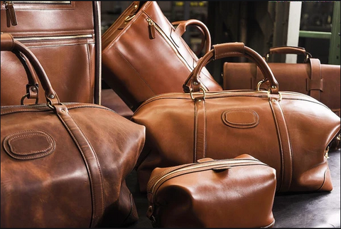 Fabulous leather carry on bags and briefcases made in America