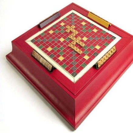 Custom Scrabble Set - Luxury Leather - made in England