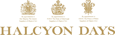 Halcyon Days, London ~ Custom Boxes, Fine Bone China ~ Bespoke Luxury Gifts in Washington, DC at Studio Burke Ltd