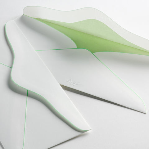 Beautiful curved envelopes