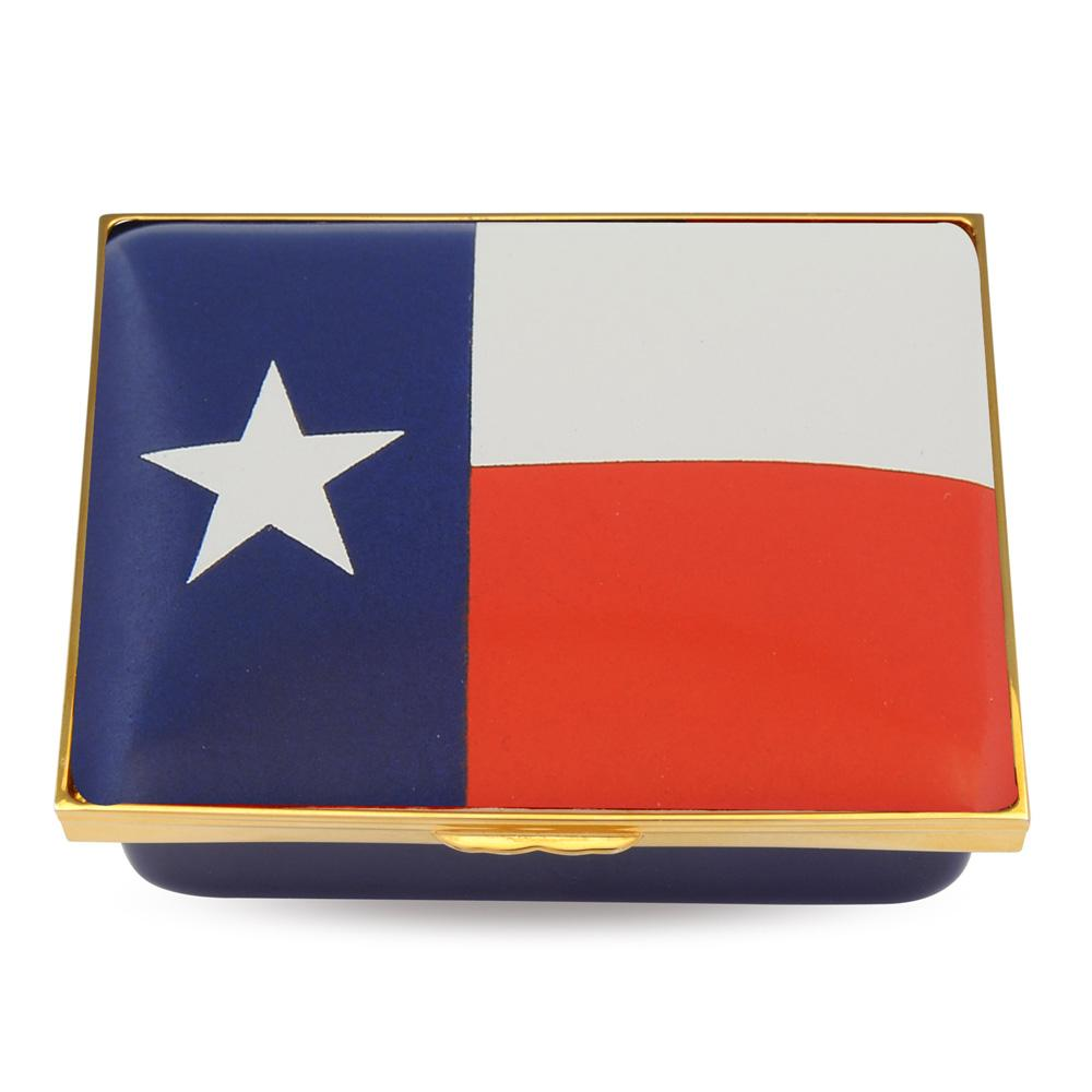 "Halcyon Days ""Lone Star"" Enamel Box-Enamel Box-Sterling-and-Burke"