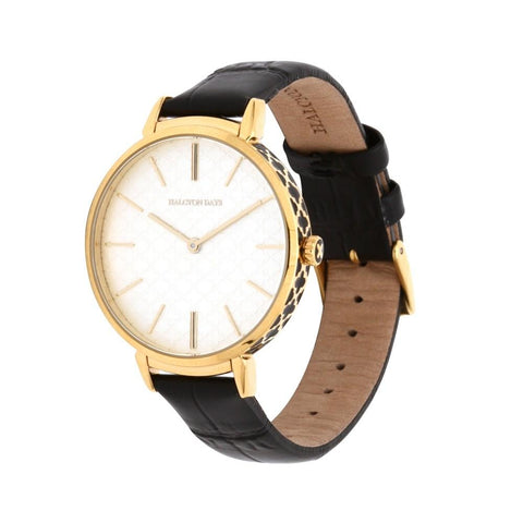Halcyon Days Agama Sport Watch in Black and Gold-Ladies Watch-Sterling-and-Burke