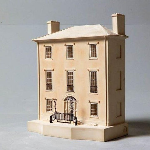 Architectural Sculpture | Decatur House | Washington, DC | Custom Model | High Quality Detail | Made in England | Timothy Richards-Desk Accessory-Sterling-and-Burke