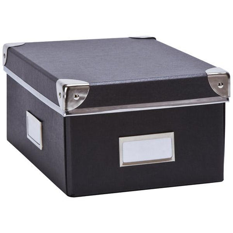 Archival Box with Metal Corners | Stationery Box | Acid Free Storage | 19"