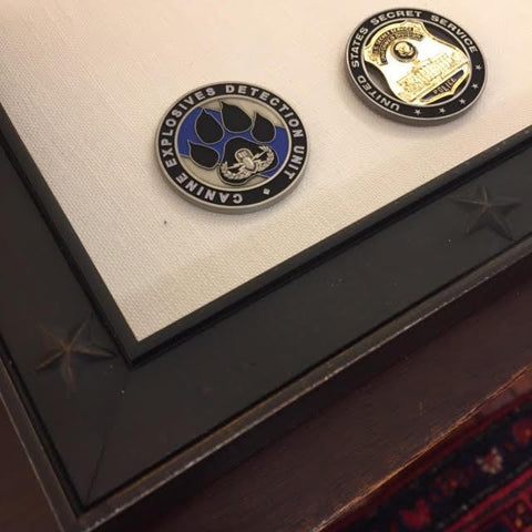 Bespoke Award | Secret Service Retirement | Custom Framed Award | Sterling & Burke Ltd-Award-Sterling-and-Burke