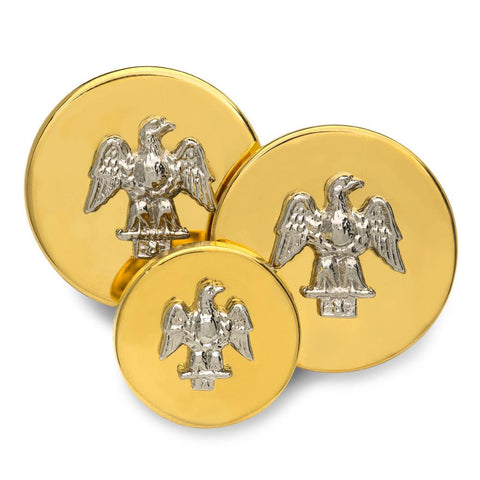 American Eagle Blazer Buttons | Gold and Silver Plated Blazer Buttons | Made in England | Benson and Clegg, London