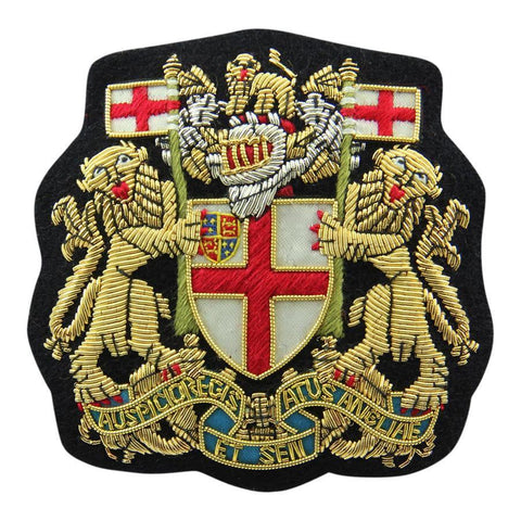 East India Company Blazer Badge | Made in England | Sterling and Burke-Blazer Badge-Sterling-and-Burke