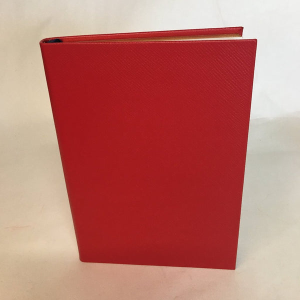 Crossgrain Leather Notebook | 8 by 6 Inches | Lined Pages | Made in England | Charing Cross