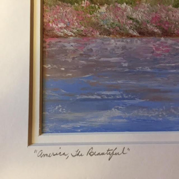 "Art | America, the Beautiful | Giclee Hand Signed by Claire Howard | 11"" x 14""-Giclee Print-Sterling-and-Burke"