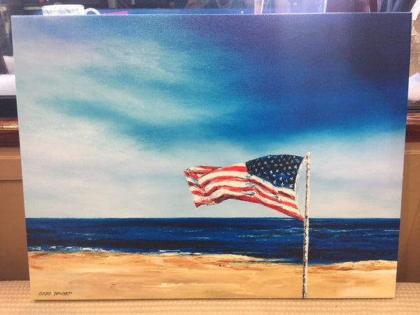 "Art | From Sea to Shining Sea | Giclee by Claire Howard | 24"" x 18""-Giclee Print-Sterling-and-Burke"