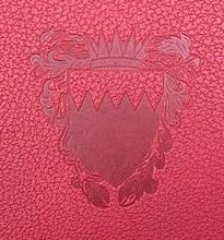 Bahrain Embassy | Production of Magnesium Die $150 | Extra Large Embassy Crest | Stamping on Leather