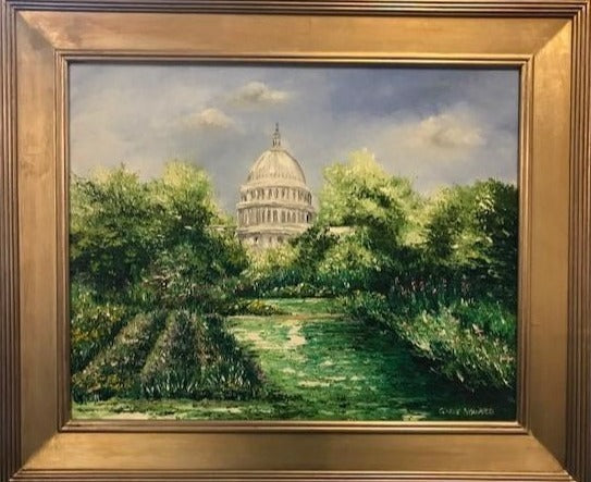 "DC Art | Capitol Building | ""Springtime In Washington"" 