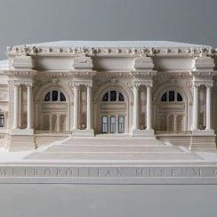 NYC Metropolitan Museum Sculpture | Custom Metropolitan Museum Plaster Model | Extraordinary Quality and Detail | Made in England | Timothy Richards
