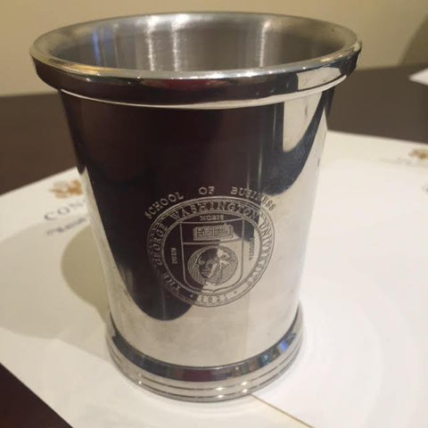 George Washington University | Pewter Gift with Engraved Crest | The George Washington University-Corporate Gifts-Sterling-and-Burke