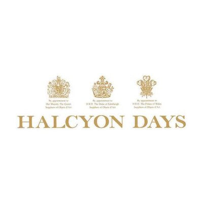 Halcyon Days Patriotic | US and UK Flag | A Very Special Relationship Enamel Box, Large