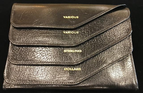 Travel Wallet | Currency Purse | Smooth Calf Leather | Made in England | Sterling and Burke-Wallet-Sterling-and-Burke
