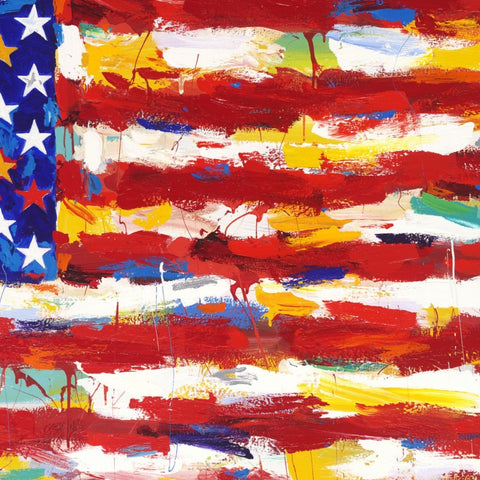 John Stango | American Flag I I Painting | USA Patriotic Artist | Washington, DC |