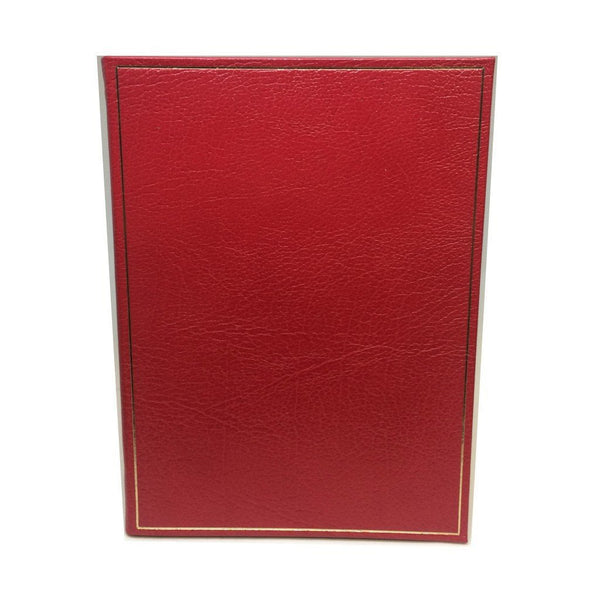 Leather Notebook, 8 by 6 Inches, Blank Pages-Notebooks-Sterling-and-Burke
