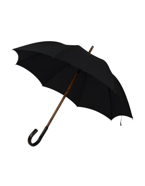 Gent's Umbrella | Bark Chestnut | Finest Quality English Umbrella | Solid Shaft | The Burke Umbrella