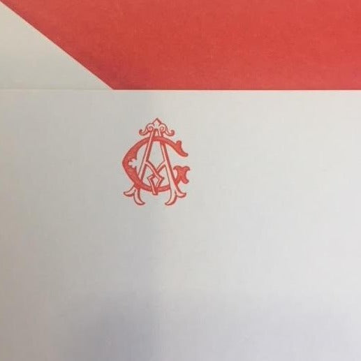 The Wren Press | Monogram Samples | Hand Engraved Stationery and Invitations | Elegant Monogram Examples-Stationery-Sterling-and-Burke
