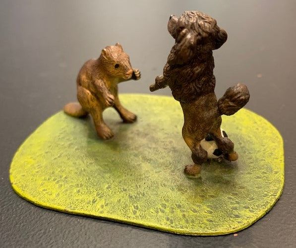 Beaver & Poodle Play Soccer | Viennese Bronze