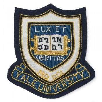 Yale Blazer Badge | Yale University Blazer Badge | Made in England-Blazer Badge-Sterling-and-Burke