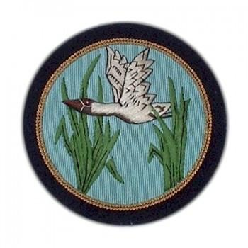 Flying Duck Blazer Badge | Made in England-Blazer Badge-Sterling-and-Burke