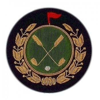 Golf Blazer Badge | Made in England-Blazer Badge-Sterling-and-Burke