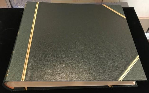 "Leatherbound Scrapbook | Photo Album | Charing Cross | 10"" x 12""-Photo Album-Sterling-and-Burke"