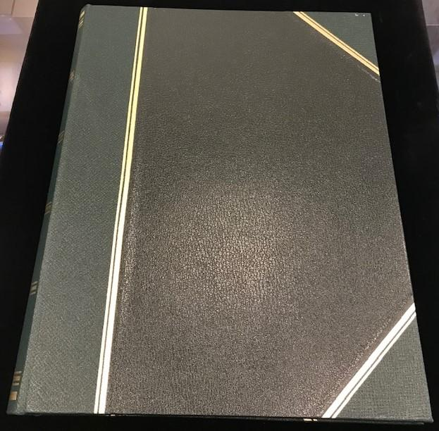 "Leatherbound Scrapbook | Photo Album | Charing Cross | 12"" x 9""-Photo Album-Sterling-and-Burke"