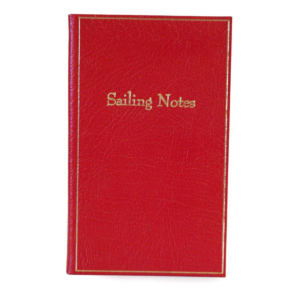 "Leather Notebook, 7x4, ""Sailing Notes"" 