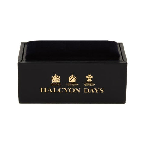 Halcyon Days Star Spangled Banner Cufflinks in Palladium