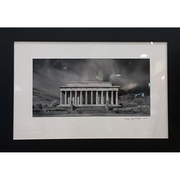 "Art | Lincoln Memorial by Frank Lee Ruggles | 19"" x 28""-Photography-Sterling-and-Burke"