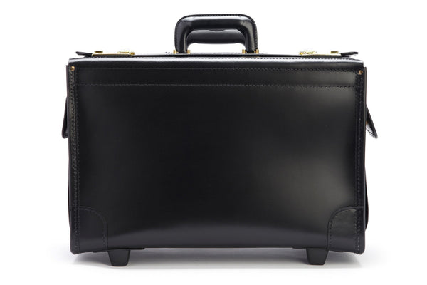 Litigator 20 Inch Wheeled Leather Catalog Case | Trial Bag-Catalog Case-Sterling-and-Burke