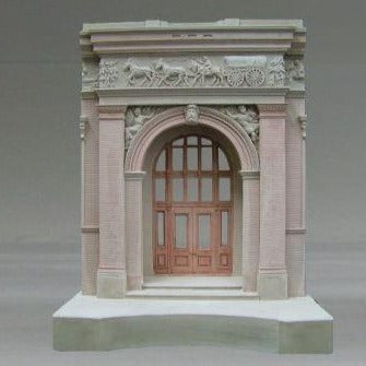 National Building Museum Sculpture | Custom National Building Museum Plaster Model | Extraordinary Quality and Detail | Made in England | Timothy Richards-Desk Accessory-Sterling-and-Burke