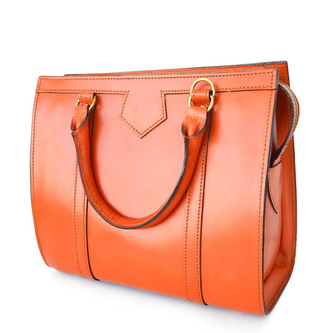 Classic Beatrice Handbag, London Tan | Hand Stitched | English Leather | Sterling and Burke-Handbag-Sterling-and-Burke