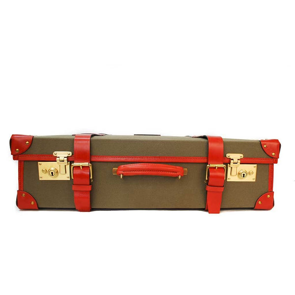 Canvas Trunk Suitcase, 26 Inch | Wheels and Trolley Option | Hand Stitched | Sterling and Burke-Suitcase-Sterling-and-Burke